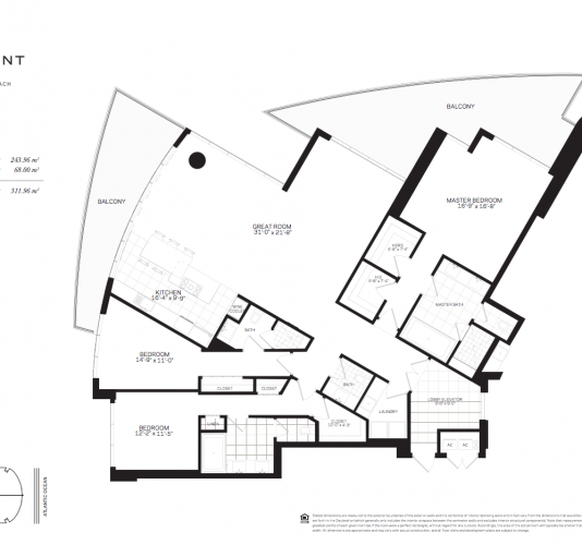 Floor Plans Paramount Condos Fort Lauderdale Beach